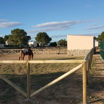Torrevieja – montaje de valla tejana